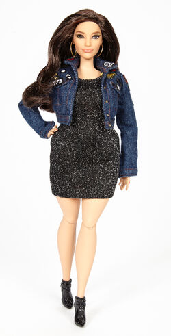 Ashley Graham Barbie Doll