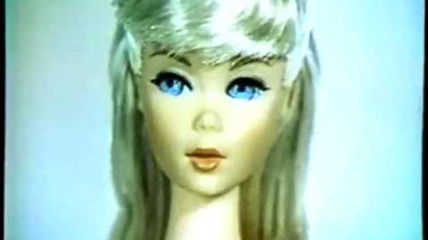 1967 Vintage COLOR Twist N Turn Barbie Doll Commercial HQ