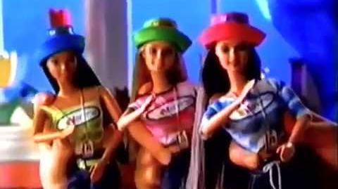 NSYNC 1 Fan Barbie & Friends Doll Commercial 2000
