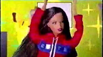 Barbie Cheerleader Dolls Commercial (2003 v2)