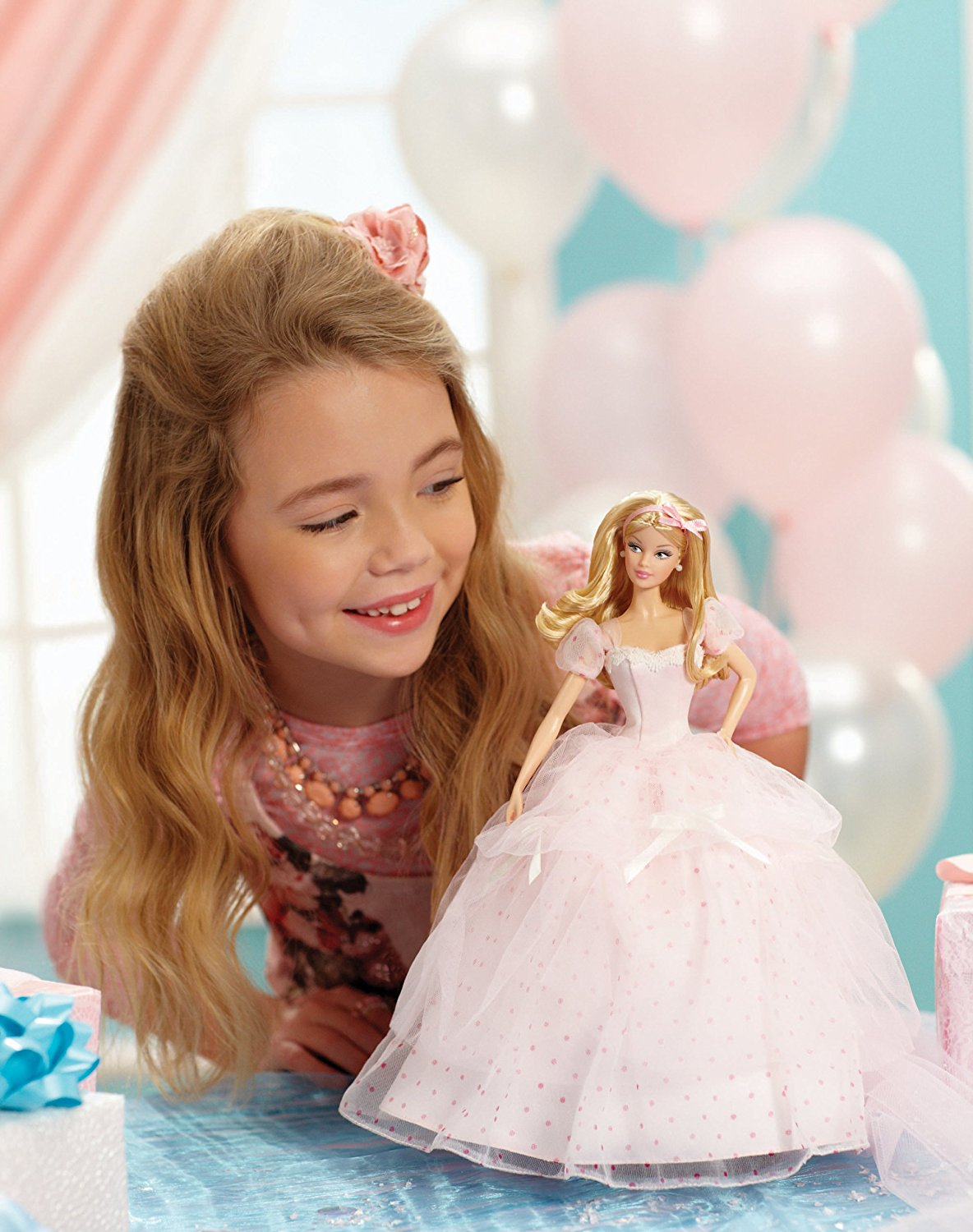Birthday Wishes Barbie Doll X9189 5