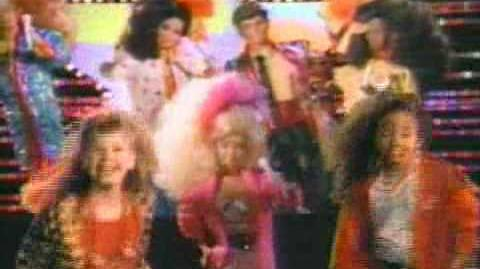 80s Barbie And The Rockers Commercial