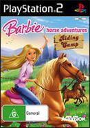 Barbie Horse Adventures Riding Camp AU PlayStation 2 Cover