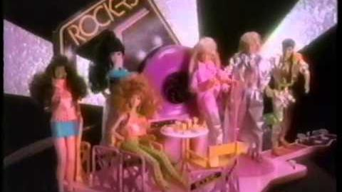 "Barbie & The Rockers ""Dance Cafe"" Commercial (1987)"