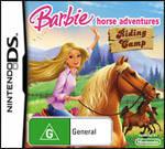 Barbie Horse Adventures Riding Camp AU Nintendo DS Cover