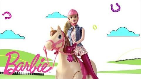 Barbie Saddle 'N Ride Horse Barbie