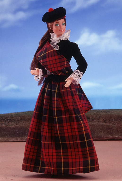 scottish barbie doll 3263 barbie wiki fandom powered