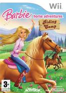 Barbie Horse Adventures Riding Camp EU Wii Cover