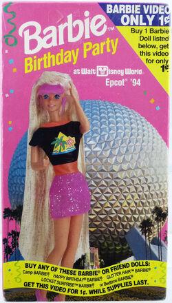 Barbie Birthday Party at Walt Disney World Epcot 94 Front