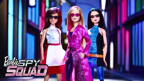 Building of Barbie Spy Squad Set Spy Squad Barbie