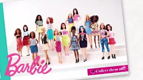 The New 2016 Fashionistas Line Barbie