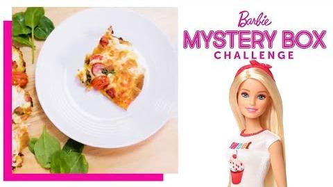 Pizza Challenge Barbie's Mystery Box Challenge