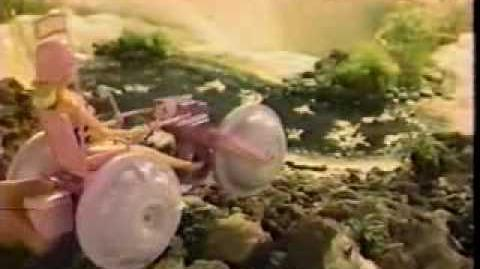 VINTAGE 80'S BARBIE SPLASH CYCLE COMMERCIAL