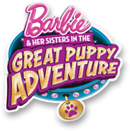 Barbie in The Great Puppy Adventure Logo