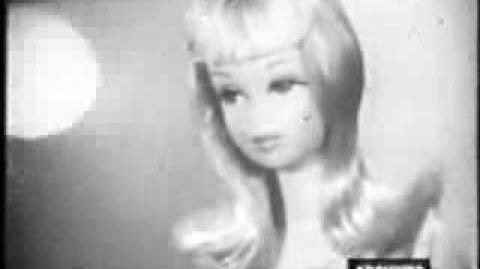 1967 Francie & Casey Barbie Commercial