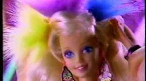 Troll Barbie doll commercial