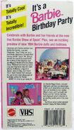Barbie Birthday Party at Walt Disney World Epcot 94 Back