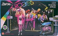 Barbie and rockers hot rockin stage