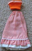 9153orange skirt1976