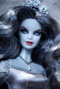Haunted Beauty Zombie Bride Barbie Doll 4