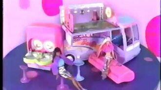 Jam N' Glam Barbie Tour Bus Commercial (2001)