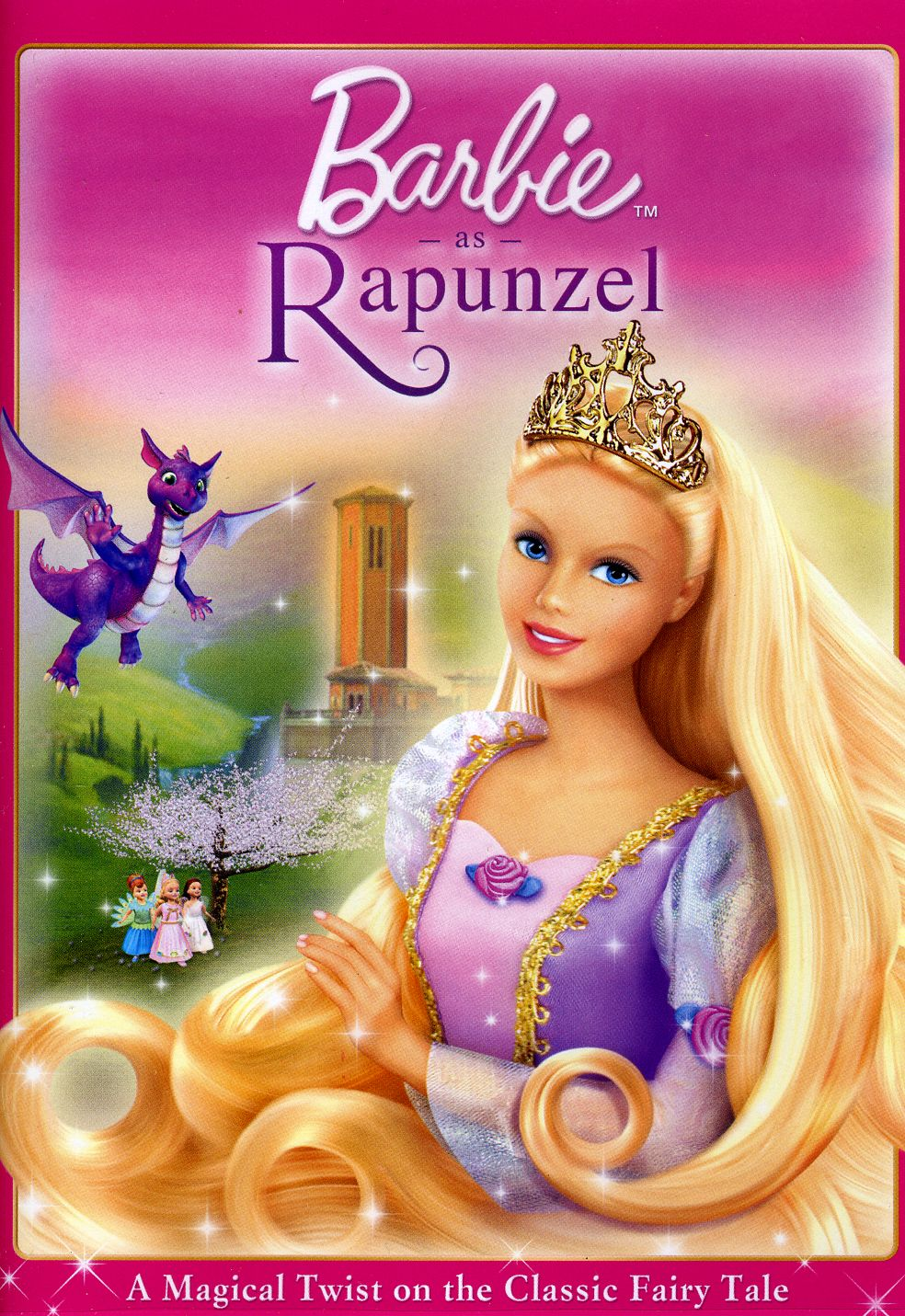 barbie rapunzel movies movie dvd disney hair wikia google 2002 wiki magic most history had posters