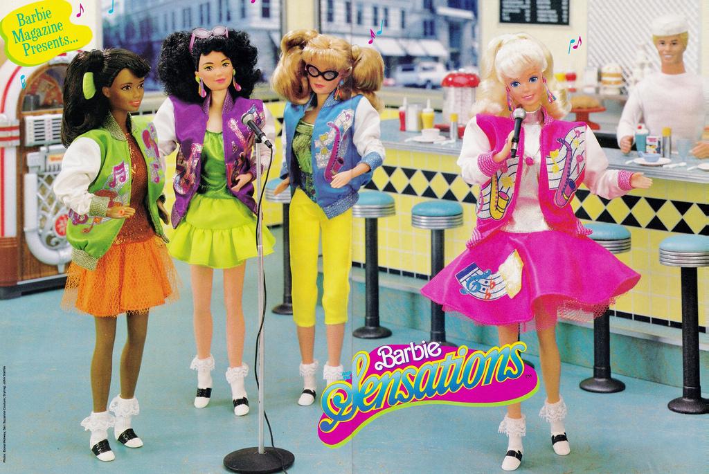 barbie and the sensations - Barbie Fe