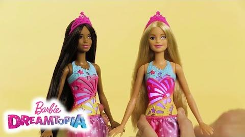 Unbox Barbie™ Dreamtopia Brush 'n Sparkle Princess Dolls and Start the Show