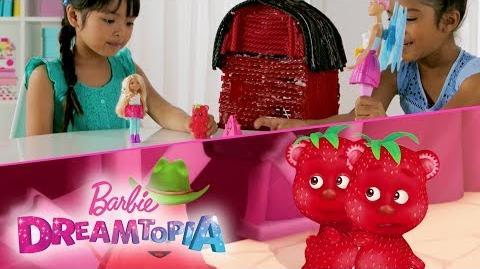 Barbie Dreamtopia Unicorn Barn Scene Recreation