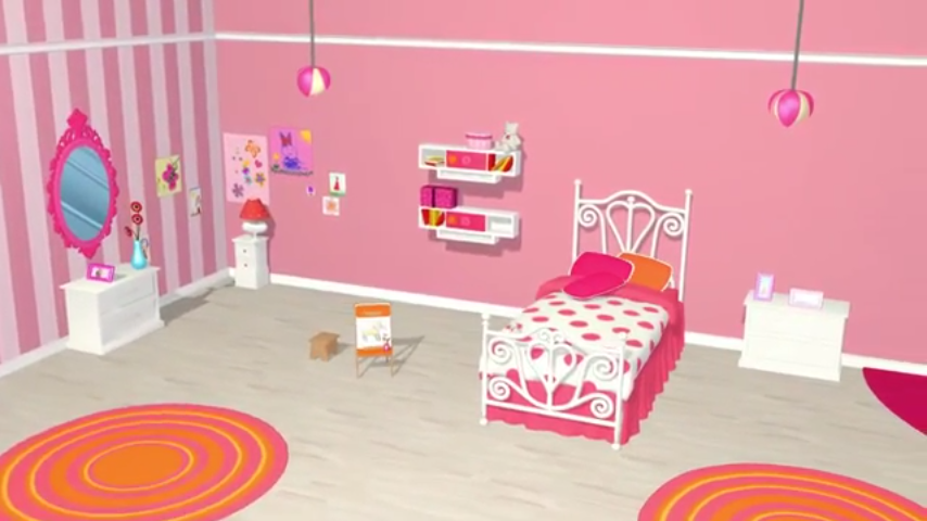Bild - Barbie, Spiel, Dreamhouse, Screenshot, Ort, Minispiel ...