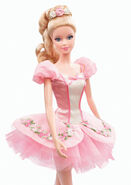 Ballet Wishes Barbie Doll (BDH12) 3
