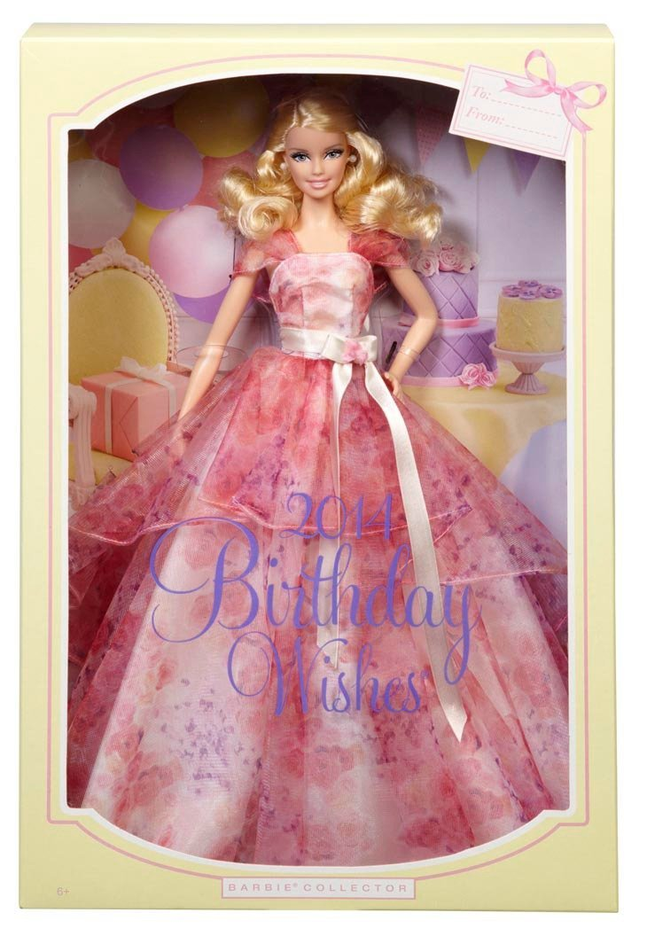 Birthday Wishes Barbie Doll BCP640 6