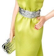 The Barbie Look Red Carpet Barbie Doll (BDH26) 3