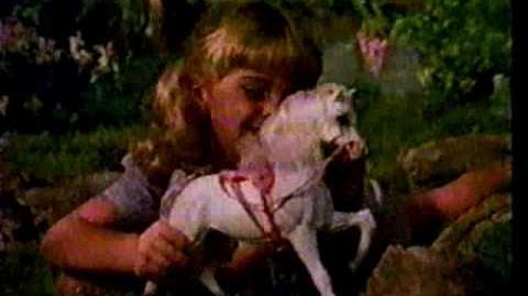 1980s Barbie Dream Horse Prancer Commercial