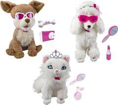 Animaux de Barbie en peluche interactive