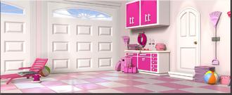 Location-barbie-dreamhouse-garage