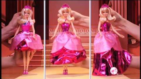 PUB poupées Barbie apprentie princesse