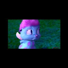 Bibble triste regardant quelque chose