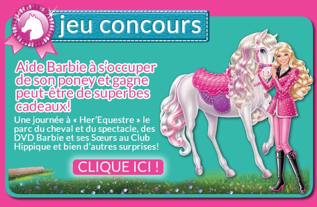 Image club hippique promotion jeu - Barbie au cheval ...