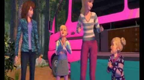 Barbie et ses sœurs partent en voyage