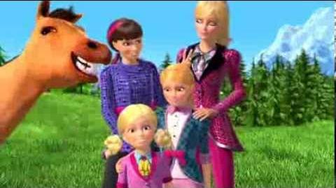 Jeu concours Barbie et ses sœurs au club hippique