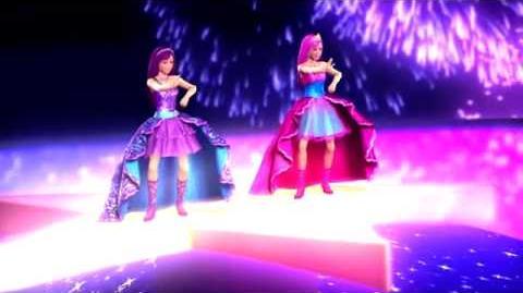 MusicVideo - Perfect Day - The Princess & The Popstar - Księżniczka i Piosenkarka - Barbie