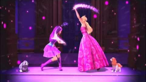 Barbie The Princess and the Popstar on dvd trailer commercial
