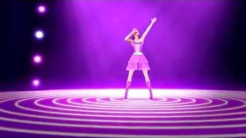 MusicVideo - Here I Am - The Princess & The Popstar - Księżniczka i Piosenkarka - Barbie