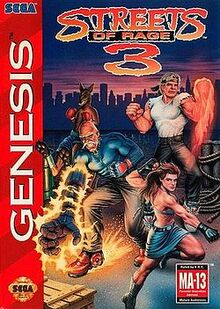 Streets of Rage 3 (box art)