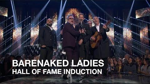 Barenaked Ladies - Hall of Fame Induction - Juno Awards 2018