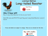 Long-tailed Rooster