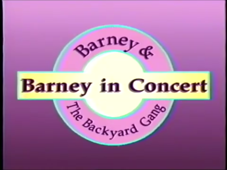 Barney In Concert Barney Episodes Wiki FANDOM Powered By Wikia - Barney and the back yard gang barney in concert