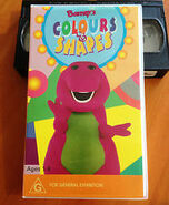 Barney's Colours & Shapes Australian VHS