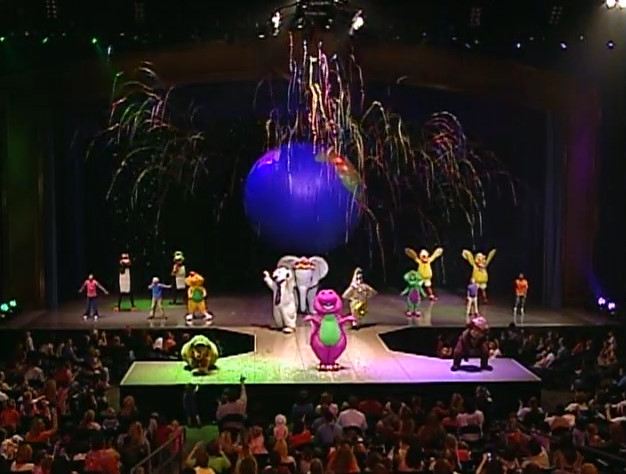Barneys Colorful World Barney Wiki FANDOM Powered By Wikia - Concert barney wiki